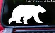 "BEAR 5"" x 2.5"" Vinyl Decal Sticker - Grizzly Black Kodiak Wilderness Polar - FREE SHIPPING"