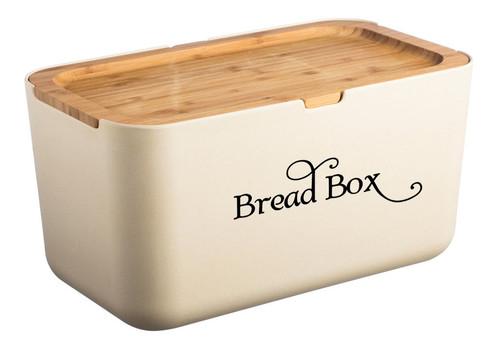 Bread Box Label Kitchen Breadbox Bread Bin Vinyl Decal