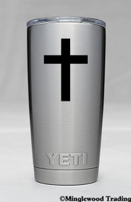 "2x CROSS 2.5"" v1 Vinyl Decal Stickers"