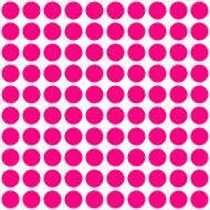 "Polka Dots - 100 1"" dots - Vinyl Decal Stickers"