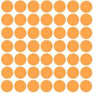 "Polka Dots - 49 1.5"" dots - Vinyl Decal Stickers"