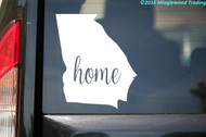 "Georgia State Vinyl Decal Sticker 5"" x 6"" Home GA Bulldogs Georgian"