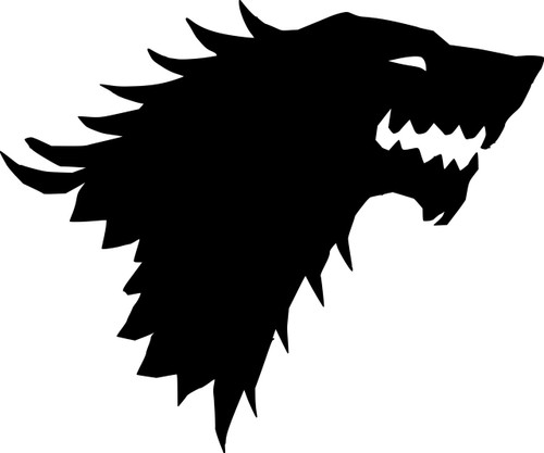House Stark Sigil Vinyl Decal Sticker 6 Quot X 5 Quot Game Of