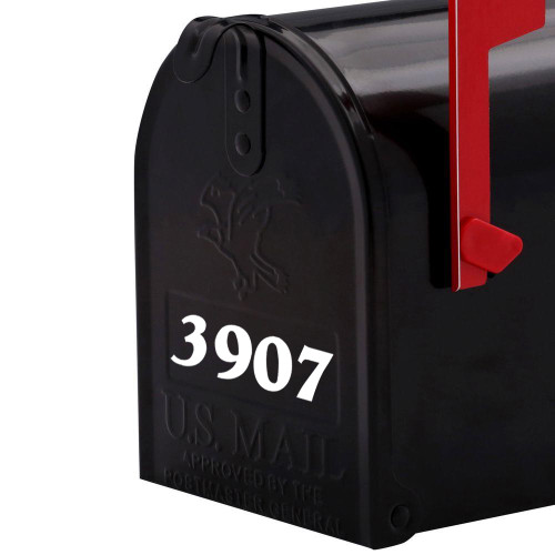 Custom Mailbox Numbers Or House Lettering Name Vinyl Decal Sticker - Custom vinyl decals numbers