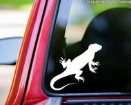 "Iguana vinyl decal sticker 5"" x 4.5"" Lizard Reptile"