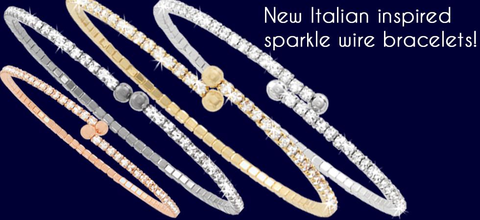 New-Italian-inspired-sparkle-wire-bracelets