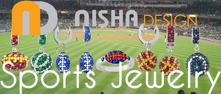 Nisha Design Sports Jewelry