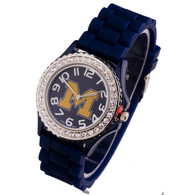 Michigan-Wolverines-Ladies-Jelly-Watch