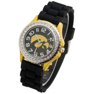 Iowa-Hawkeyes-Ladies-Jelly-Watch
