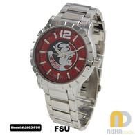 Florida-State-Seminoles-Mens-Metal-Watch