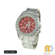 Alabama-Ladies-Metal-Link-Watch