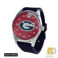 Georgia-Bulldogs-Mens-Jelly-Watch