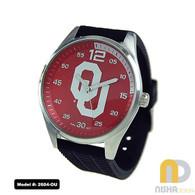 Oklahoma-OU-Mens-Jelly-Watch