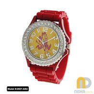 Arizona-State-Sun-Devils-Ladies-Jelly-Watch
