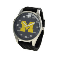 Michigan-Wolverines-Mens-Jelly-Watch