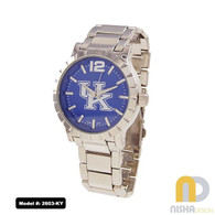 Kentucky-Wildcats-Mens-Metal-Watch