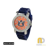 Auburn-Tigers-Ladies-Petite-Jelly-Watch