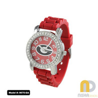 Georgia-Bulldogs-Small-Ladies-Jelly-Watch