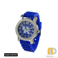 Kentucky-Wildcats-Ladies-Small-Jelly-Watch