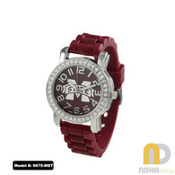 Mississippi-State-Bulldogs-Ladies-Small-Jelly-Watch