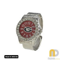 Georgia-Bulldogs-Womens-Cuff-Watch