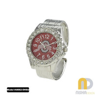Ohio-State-Ladies-Metal-Cuff-Watch