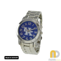 Kentucky-Wildcats-Ladies-Metal-Watch