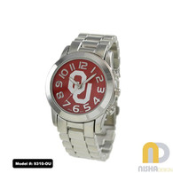 Oklahoma-Sooners-OU-Small-Metal-Watch