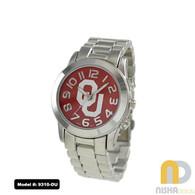 Oklahoma-Sooners-OU-Small-Metal-Watch