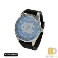 UNC-Tar-Heels-Mens-Jelly-Watch