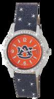 Auburn-Tigers-Ladies-Glitter-Watch