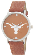 Texas-Longhorns-Vegan-Leather-Watch