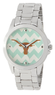 Texas-Longhorns-Chevron-Metal-Watch