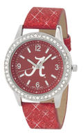 Alabama-Crimson-Tide-Glitter-Watch