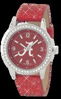 Alabama-Crimson-Tide-Glitter-Watch