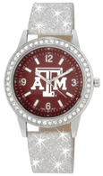 Texas-A-and-M-Bling-Glitter-Watch