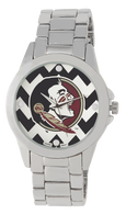 Florida State Seminoles Metal Chevron Watch
