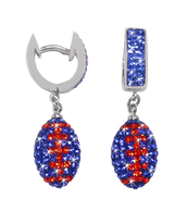 Blue-and-orange-football-crystal-earrings
