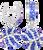 royal-blue-and-white-crystal-basketball-earrings