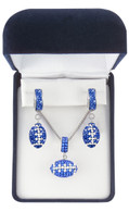 royal-blue-and-white-football-jewelry-set