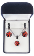 black-and-orange-crystal-basketball-jewelry-set