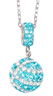 Carolina-Blue-and-white-basketball-charm-pendant