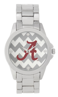 Alabama Crimson Tide Metal Chevron Watch