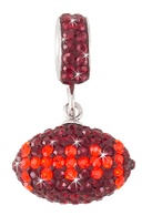 Maroon-and-orange-football-charm-pendant