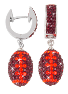 Maroon-and-orange-Virginia-Tech-crystal-football-earrings