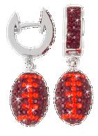 Maroon-and-orange-Virginia-Tech-crystal-football-earrings