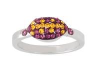 Purple-and-gold-football-ring-from-Nisha-Design