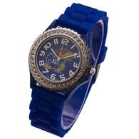 Kansas-Jayhawks-Ladies-Jelly-Watch