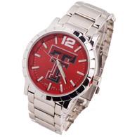 Texas-Tech-Mens-Metal-Watch