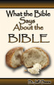 What the Bible Says About the Bible
